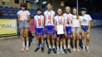 Młodzi zawodnicy MLKS Wieluń przywieźli 4 medale ztorowych Międzywojewódzkich Mistrzostw Młodzików
