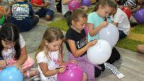 Święto balonów wbibliotece miejskiej wWieluniu