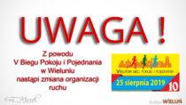 Utrudnienia wruchu zpowodu Biegu Pokoju iPojednania wniedzielę 25 sierpnia