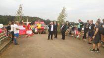 Biegiem Pamięci mieszkańcy Gminy Mokrsko upamiętnili 80. rocznicę wybuchu II Wojny Światowej