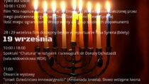 III Wieluńskie Dni Kultury Żydowskiej 2019