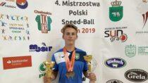 Uczeń ZS nr2 wWieluniu Patryk Ignasiak Mistrzem Polski wSpeed-ballu