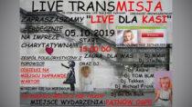 WPątnowie odbędzie się charytatywny LIVE dla ciężko chorej 3-letniej Kasi Jędrasiak