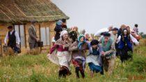 Żywą lekcją historii uświetniono wKamionce gm. Pątnów obchody 80. rocznicy wybuchu II Wojny Światowej