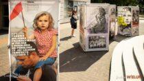 """Wystawy IPN """"Ukradzione dzieciństwo"""",  Muzeum Dywizjonu 303 istanowisko SHBON Wieluń towarzyszyły obchodom 1 września wWieluniu"""