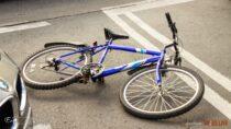 31-letnia rowerzystka zobrażeniami ciała wwyniku potrącenia przewieziona doszpitala