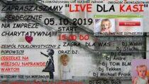 LIVE dla ciężko chorej 3-letniej Kasi Jędrasiak