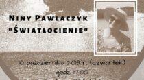 """Promocja tomiku wierszy poetki Niny Pawlaczyk """"Światłocienie"""""""