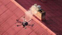 Urząd Miejski wWieluniu kontroluje zanieczyszczenie powietrza przy pomocy drona