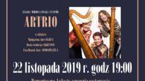 Koncert zespołu Artrio w Wieluniu