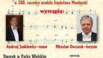 Koncert w Mokrsku w 200. rocznicę urodzin Stanisława Moniuszki