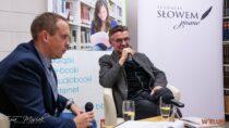 Spotkanie autorskie zpoetą Wojciechem Kassem wwieluńskiej bibliotece powiatowej