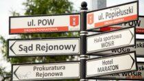 Urząd Miejski wWieluniu informuje: utrudnienia wruchu naskrzyżowaniu ulic P.O.W iPopiełuszki