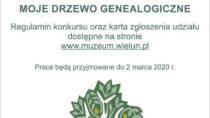 Muzeum ogłasza konkurs na drzewo genealogiczne