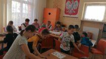 Dzieci zSP wMasłowicach uczestniczyły wwarsztatach rękodzielniczych