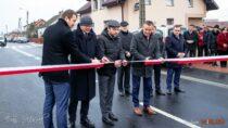 Droga powiatowa wmiejscowości Dzietrzniki oddana doużytku