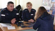 Wieluńscy policjanci promowali swój zawód