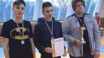 Męska drużyna ILO wWieluniu wicemistrzem województwa wtenisie stołowym