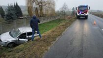 Niedostosowanie prędkości dowarunków nadrodze skutkiem wypadku wmiejscowości Gaszyn