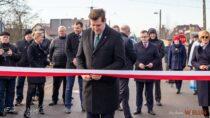 Wmiejscowości Biała Kopiec oddano doużytku nowo przebudowaną drogę powiatową