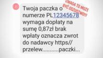 Policja ostrzega: SMS zprośbą odopłatę doprzesyłki może być oszustwem