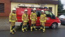 """OSP wDąbrowie otrzymało dofinansowanie wramach projektu """"Strażacy ubrani wdobrą energię"""""""