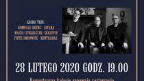 """Romuald Erenc, Maciej Strzelczyk i Piotr Rodowicz w Wieluniu z koncertem z cyklu """"Smaki muzyki"""""""