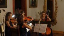 Al Pari Quartet wystąpił wMuzeum Wnętrz Dworskich wOżarowie