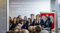 WII LO im.J. Korczaka wWieluniu otwarto zrewitalizowaną Izbę Pamięci
