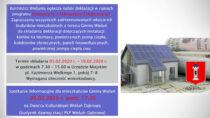 Urząd Miejski wWieluniu organizuje spotkanie wsprawie instalacji odnawialnych źródeł energii
