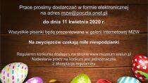 Konkurs on-line wieluńskiego muzeum na najładniejszą pisankę