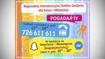 Dla dzieci imłodzieży uruchomiono Regionalny Interwencyjny Telefon Zaufania