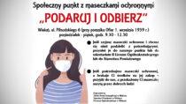 """WWieluniu powstaje społeczny punkt zmaseczkami """"Podaruj iodbierz"""""""