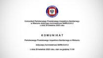 245 osób objęto kwarantanną domową – Inspektor Sanitarny wWieluniu wydał komunikat