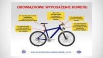 Rowerzysta nadrodze – policja podaje podstawowe zasady