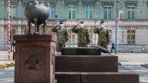 Żołnierska pamięć opolskich bohaterach zokazji Święta Flagi iŚwięta Narodowego 3 Maja