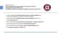 Łącznie mamy 94 osoby zakażone koronawirusem SARS-CoV-2 wpowiecie wieluńskim a59 wyzdrowiało