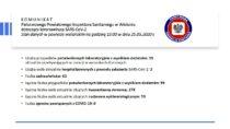 Wpowiecie wieluńskim jest łącznie 99 osób zakażonych koronawirusem SARS-CoV-2 a62 wyzdrowiały