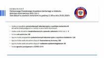 Państwowy Powiatowy Inspektor Sanitarny wWieluniu wydał komunikat dotyczący koronawirusa SARS-CoV-2