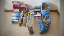 Nielegalne wyroby akcyzowe przejęła wWieluniu Krajowa Administracja Skarbowa
