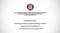 Kolejne dwie osoby zpowiatu wieluńskiego mają potwierdzony wynik dodatni naobecność SARS-CoV-2