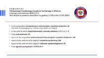 Łącznie mamy 106 osób zakażonych koronawirusem SARS-CoV-2 wpowiecie wieluńskim a63 wyzdrowiały