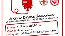 Akcja krwiodawstwa na rzecz Oddziału Chirurgii Ogólnej SP ZOZ w Wieluniu