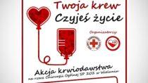 Akcja krwiodawstwa narzecz Oddziału Chirurgii Ogólnej SP ZOZ wWieluniu