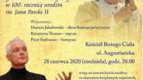 Spektakl słowno-muzyczny z okazji 100. rocznicy urodzin Jana Pawła II