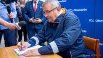 Minister infrastruktury podpisał wWieluniu program inwestycyjny nabudowę obwodnicy