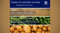 ARiMR: finał naboru wniosków – materiał siewny 2020