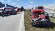 67-letni mieszkaniec powiatu wieluńskiego ucierpiał wwypadku naS8