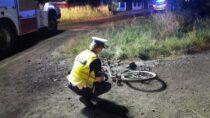 Tragiczny wypadek wGalewicach. Zginął 18-letni rowerzysta