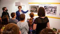 Wmuzeum dzieci zagrały wgrę planszową ohistorii Wielunia